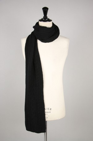 INVERALLAN Scarf Cable - BLACK