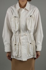 Pheeny Fatigue jacket -WHITE (PS20-BL03)