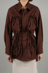 Pheeny Fatigue jacket -BROWN (PS20-BL03)