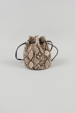Todayful Python Bucket Bag-BEIGE(12011034 )