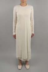 Todayful Cottonrib Layered Dress-ECRU( 12010317 )
