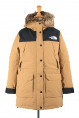 The North Face -Women- Mountain Down Coat -UTILITY BROWN (NDW91935)