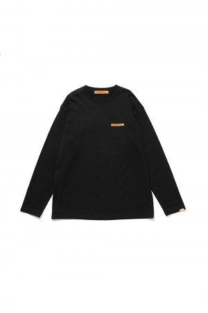 Studio Seven Caution LS Tee / Black(70864192)