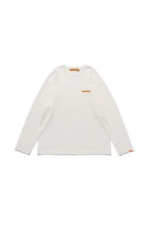 Studio Seven Caution LS Tee / White(70864192)
