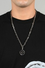 Off-White OFF CROSS NECKLACE / METAL NO COLOR(OMOB046E20MET0017800)
