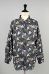 Masses SPACE TRIANGLE SHIRT / GRAY