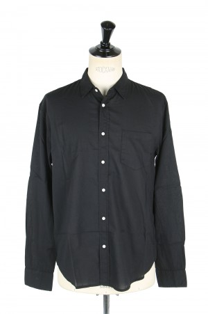 Frank & Eileen -Men- LUKE ITALIAN LIGHT POPLIN -BLACK (9920700006)