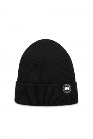 Canada Goose - Men - LIGHTWEIGHT MERINO WATCH CAP - BLACK (5002M)
