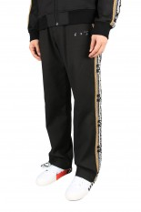Off-White OW LOGO DOGO TRACKPANT BLACK WHITE(OMCA151F20FAB0011001)