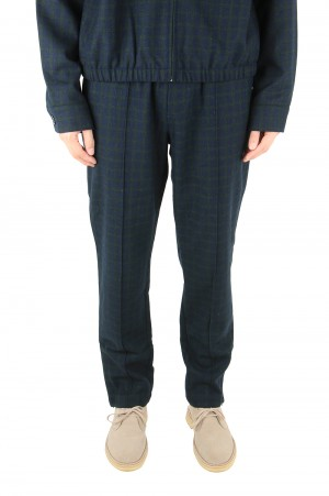 Fucking Awesome Tailored Track Pant / Green Navy Plaid