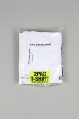 Shinzone PACK TEE -WHITE/BLACK ( 20SMSCU66)