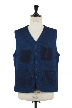 Porter Classic PC KENDO VEST / BLUE (PC-001-002)
