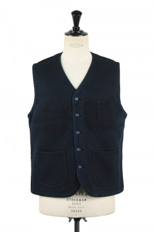 Porter Classic PC KENDO VEST / DARK NAVY (PC-001-003)