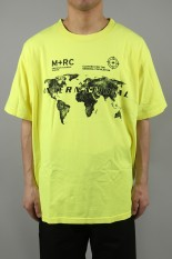 M+RC Noir INTERNATIONAL TEE - NEON YELLOW
