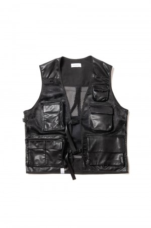 Magic Stick LEATHER TACTICAL VEST(20FW-MS9-021)