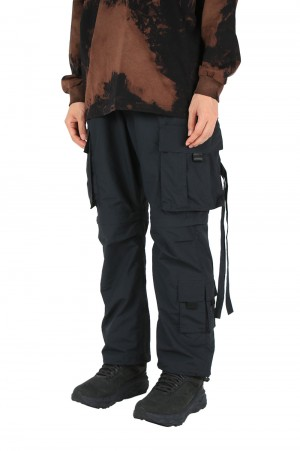 Wild Things TACTICAL RIP 7POCKET PANTS - BLACK (WT21128AD)