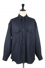 Kaptain Sunshine Wool Flannel C.P.O - NAVY (KS20FSH01)