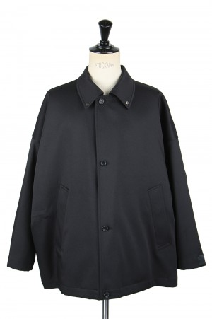 N.hoolywood BALMACAAN HALF COAT-BLACK-(2202-CO10-017)