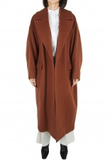 RIM.ARK Double weave loose gown-BROWN(460DAL30-0290)
