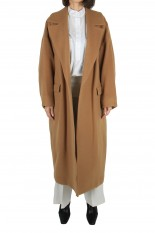 RIM.ARK Double weave loose gown-CAMEL(460DAL30-0290)
