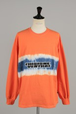 Thisisneverthat Striped Tiedye LS Top / Orange (TN20SLS009)