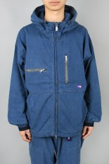 The North Face Purple Label - Men - Indigo Mountain Field Parka - Indigo Bleach (NP2054N)