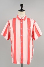 Thisisneverthat Big Striped SS Shirt / Red