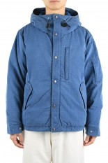 The North Face Purple Label - Men - Indigo Mountain Short Down Parka - Indigo Bleach (ND2066N)