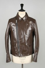 Lewis Leathers Tight-Fit Lightning -HORSE- (#402T) / BROWN