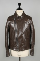 Lewis Leathers Tight-Fit Cyclone -HORSE- (#441T) / BROWN