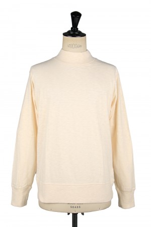 Healthknit #51003 MAX WEIGHT SLAB JERSEY MOCKNECK L/S - NATURAL (700084704)