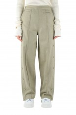 pelleq basketball trousers -sage (PT0504-AW20)