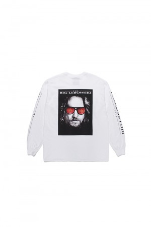 Wackomaria THE BIG LEBOWSKI /  LONG SLEEVE T-SHIRT / WHITE (TBL-WM-LT01)