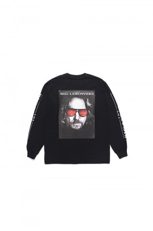 Wackomaria THE BIG LEBOWSKI /  LONG SLEEVE T-SHIRT / BLACK (TBL-WM-LT01)