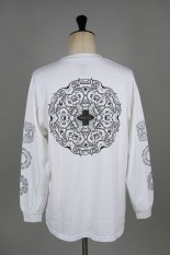 Masses T-SHIRTS L/S MUTANT / WHITE