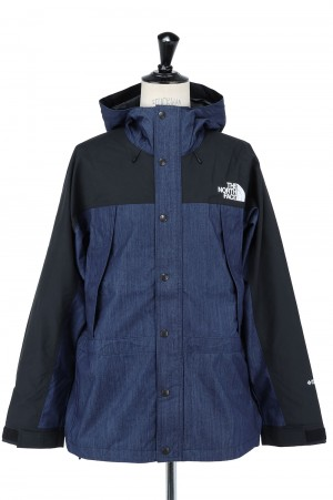 The North Face - Men - Mountain Light Denim Jacket - NYLON INDIGO (NP12032)