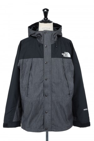 The North Face - Men - Mountain Light Denim Jacket - NYLON BLACK (NP12032)