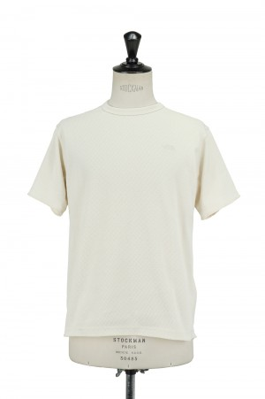 The North Face - Men - S/S Honeycomb Crew - VINTAGE WHITE (NT12137)