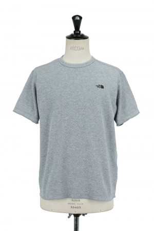 The North Face - Men - S/S Honeycomb Crew - MIX GRAY (NT12137)