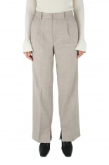 Todayful Georgette Slit Pants -OATMEAL (12020718)