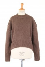 Todayful Lambswool Soft Knit -CHOCOLATE (12020525)