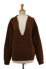 Todayful Uneck Soft Knit -BROWN (12020527)