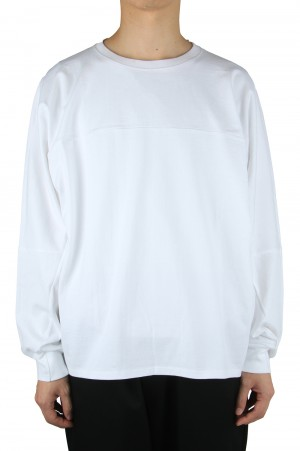 Graphpaper PRE_ for GP Oversized FTB L/S Tee - WHITE (GM204-70232)