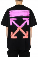 Off-White MARKER S/S OVER TEE/BLACK(OMAR21-036)