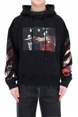 Off-White CARAVAGGIO OVER HOODIE/BLACK(OMBR21-110)