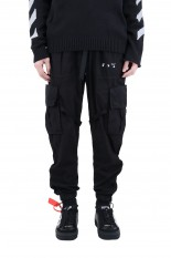 Off-White OW LOGO COTTON CARGO PANT(OMCR21-143)