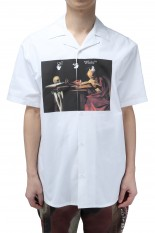 Off-White CARAVAGGIO HOLIDAY SHIRT(OMGR21-217)