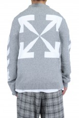 Off-White ARROW CREWNECK/HIGH RISE(OMHR21-234)