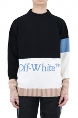 Off-White BLOCKED CREW NECK(OMHR21-235)