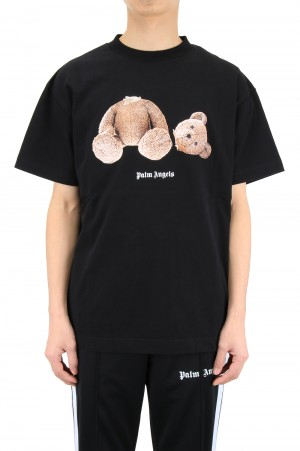 Palm Angels PALM ANGELS BEAR TEE /  BLACK (PMAA001R21JER0011060)